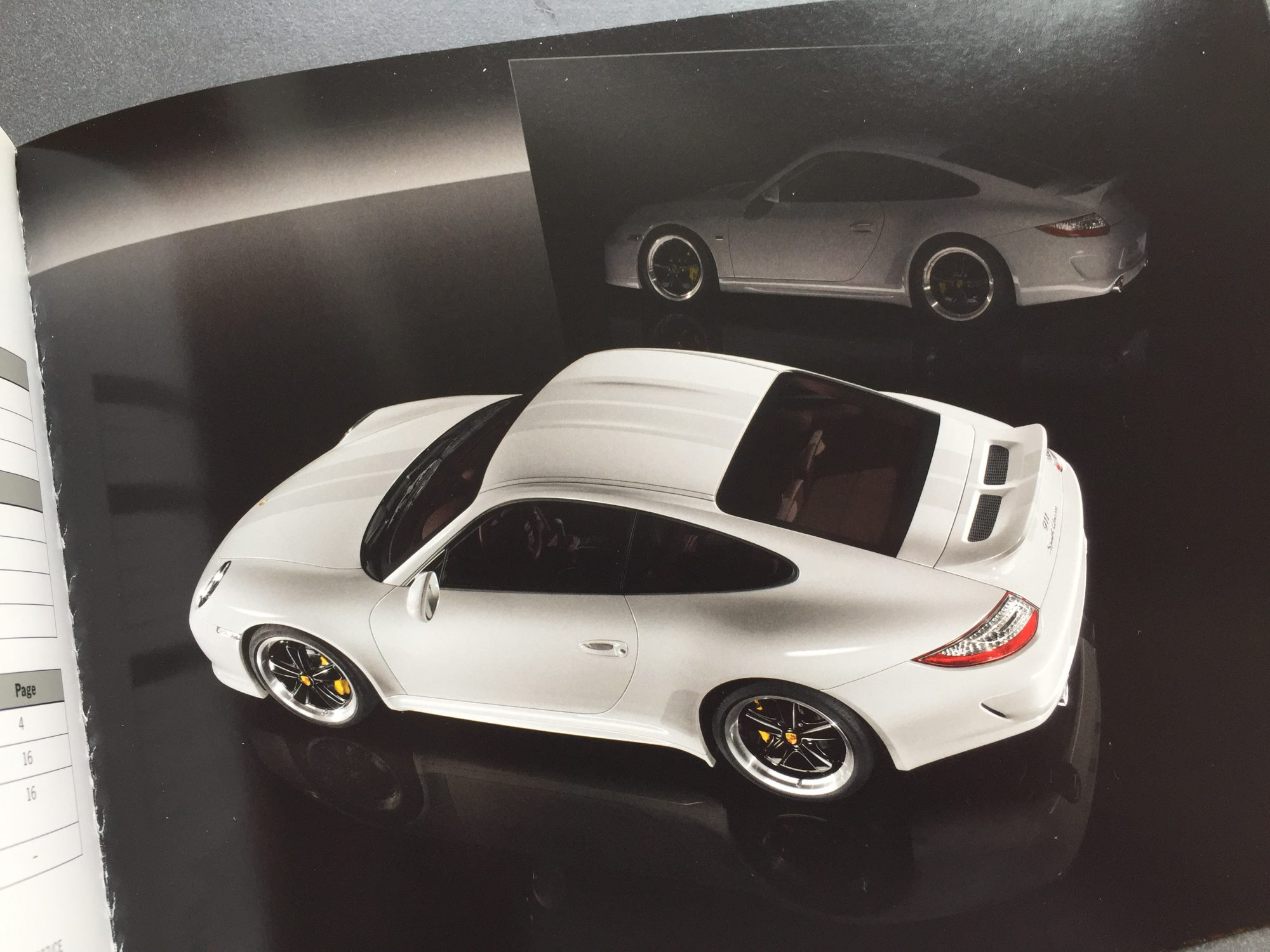 Porsche 911 Sport Classic brochure House of Petrolhead