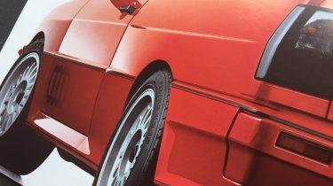 Autofolder autobrochure Audi QuattroIMG_9187