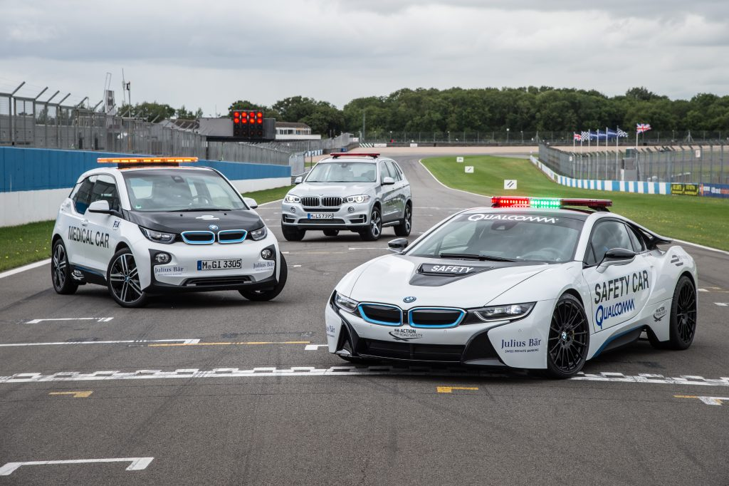 BMW Formule E safety cars