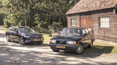 Volvo V90 vs 240