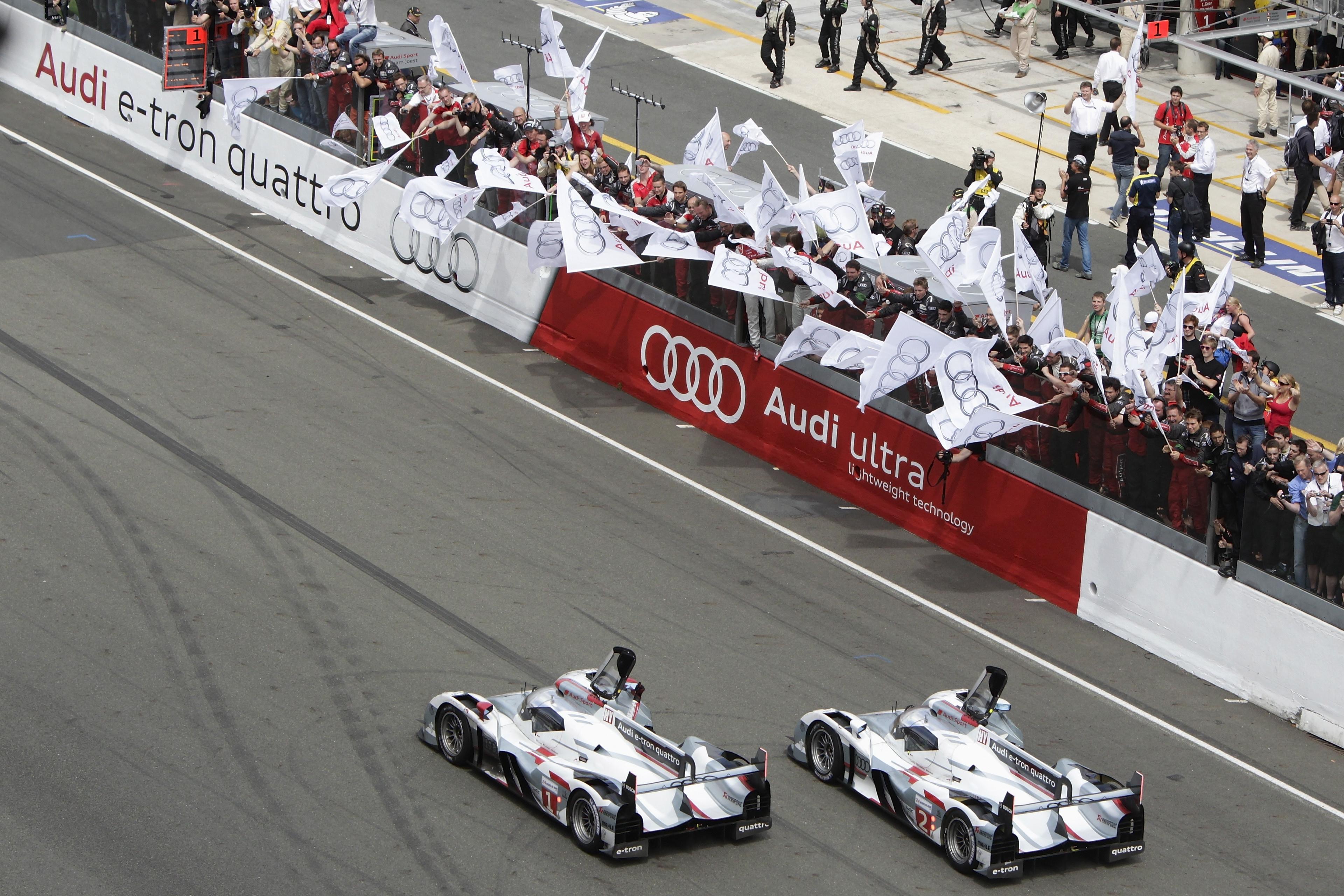 Le Mans victory 2012