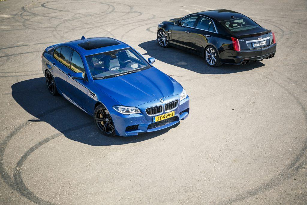BMW M5 vs. Cadillac CTS-V
