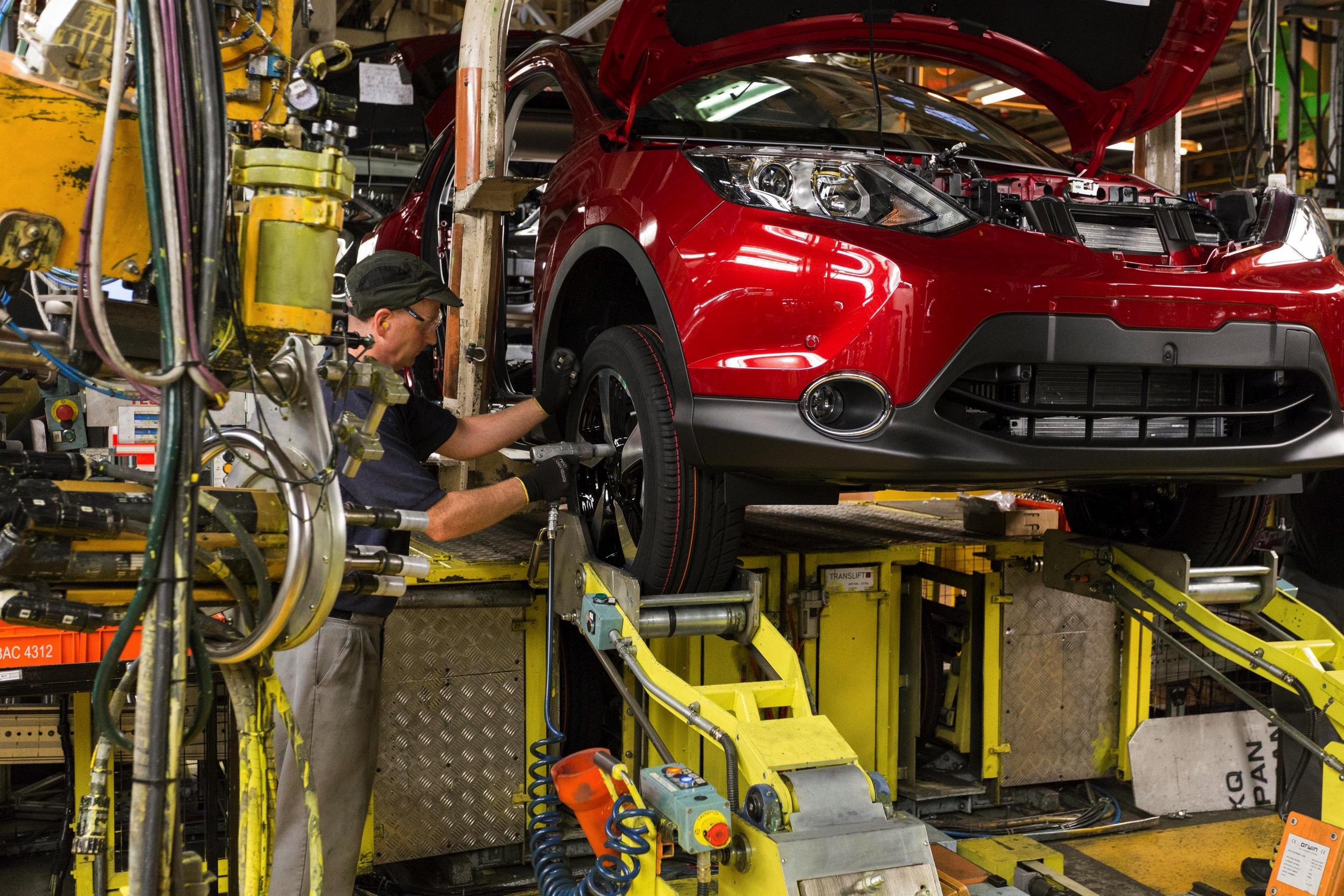 Nissan Qashqai productie Sunderland -1Autovisie.nl