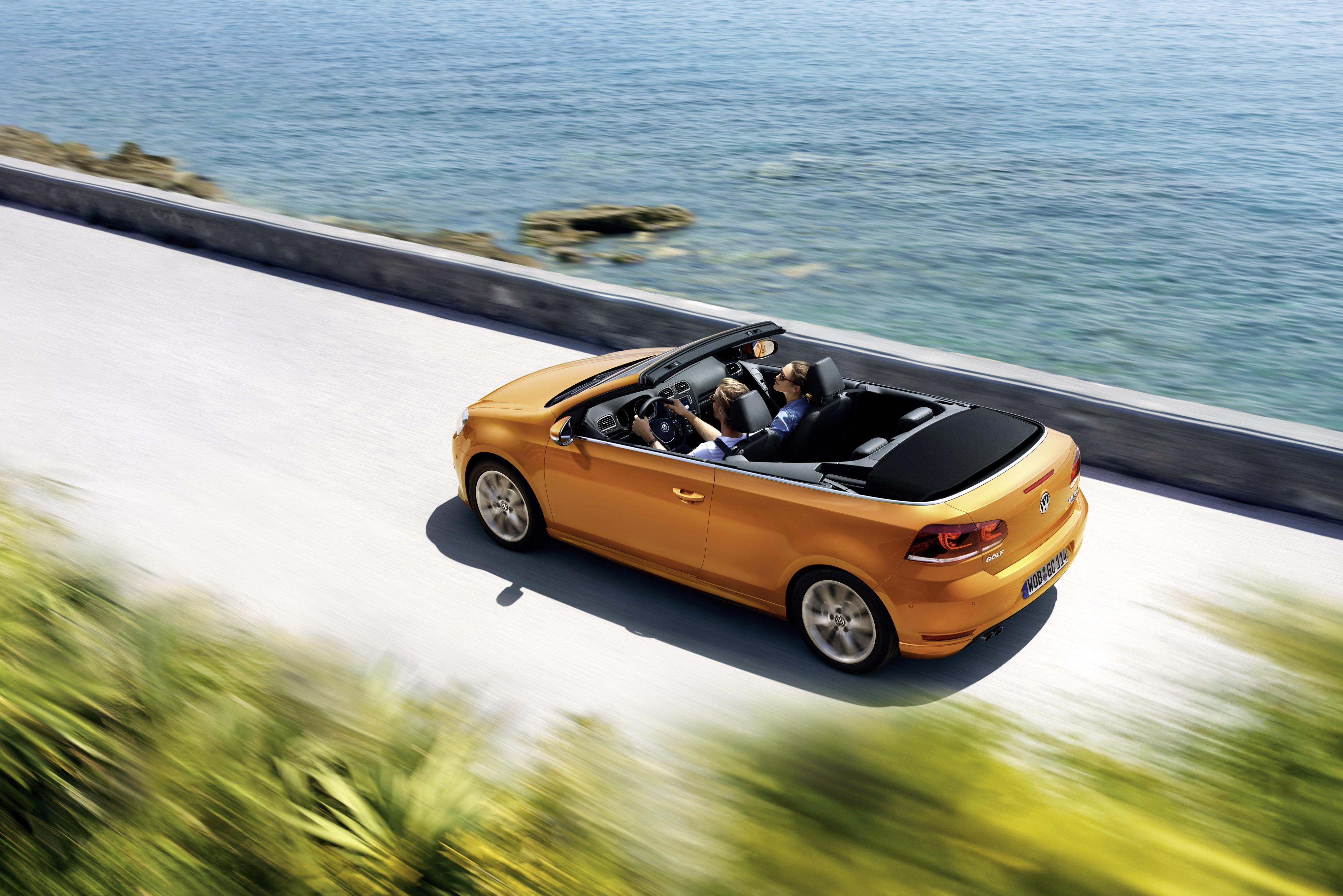 Volkswagen Golf Cabriolet - 2 -Autovisie.nl