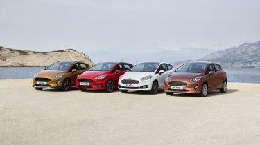 Ford Fiesta's