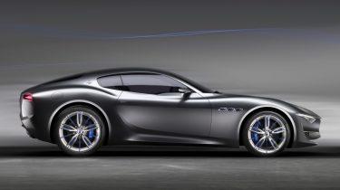 Maserati Alfieri frontaa