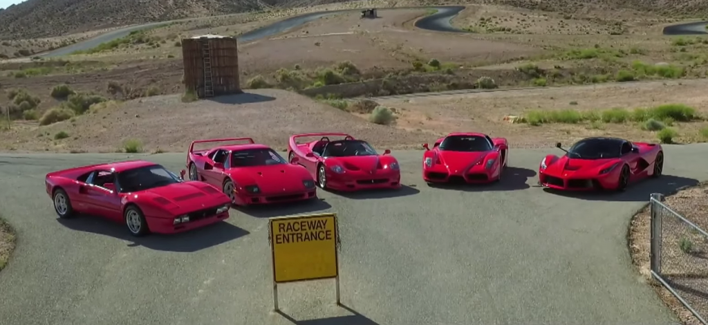 Ferrari-hypercars van David Lee