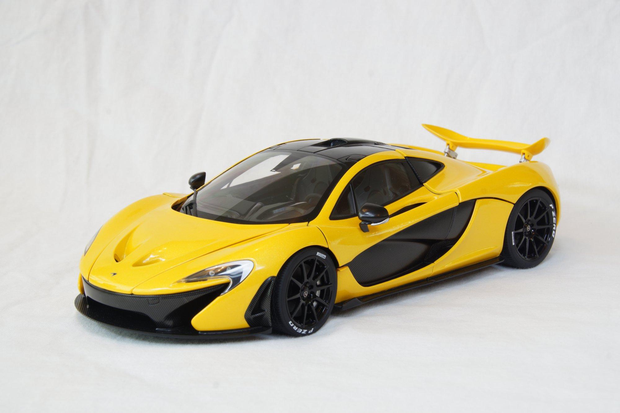 AutoArt Signature Series McLaren P1 1/18