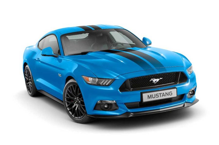 Mustang Blue Edition