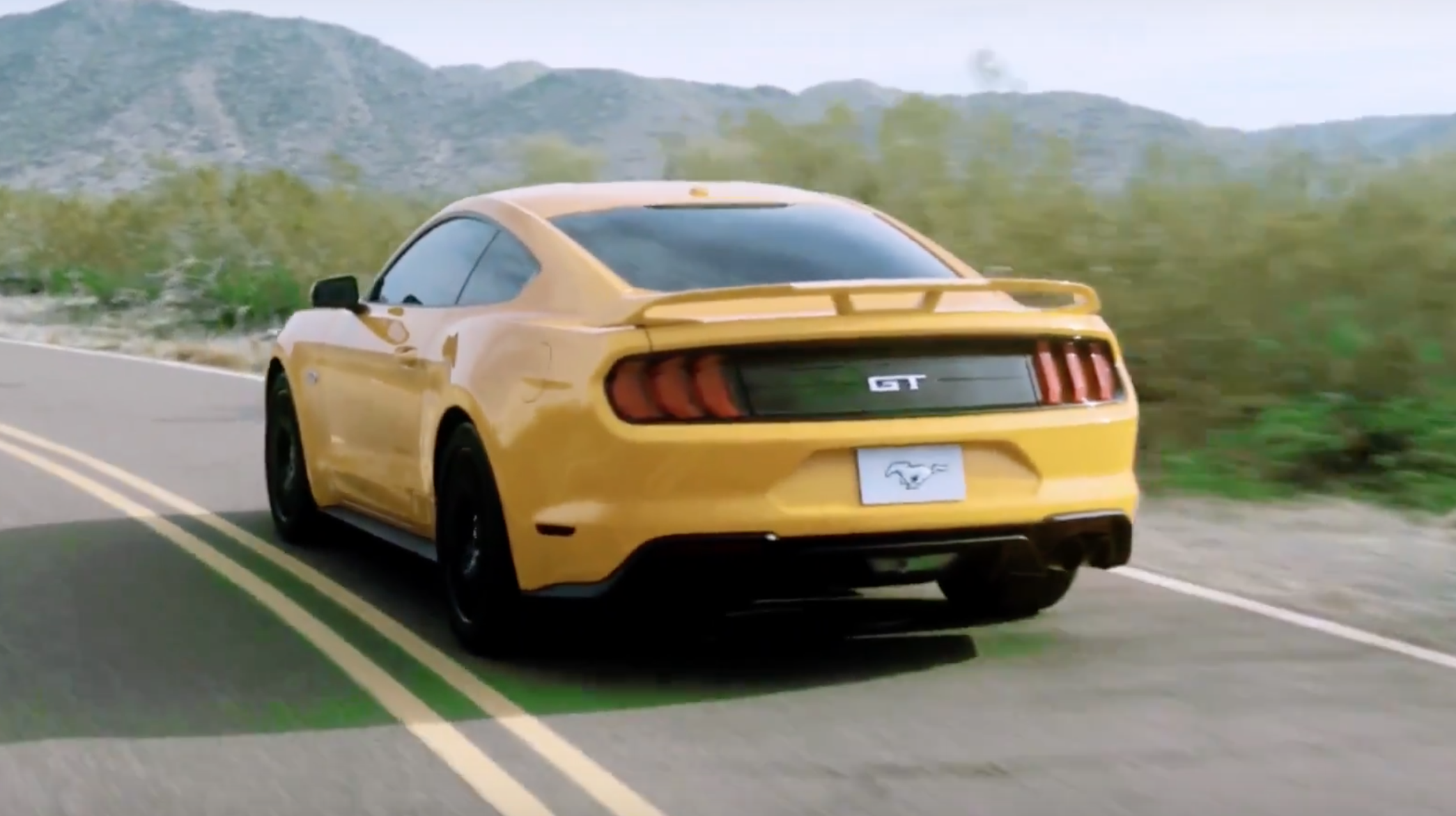 Ford Mustang 2018 achterkant - Autovisie.nl