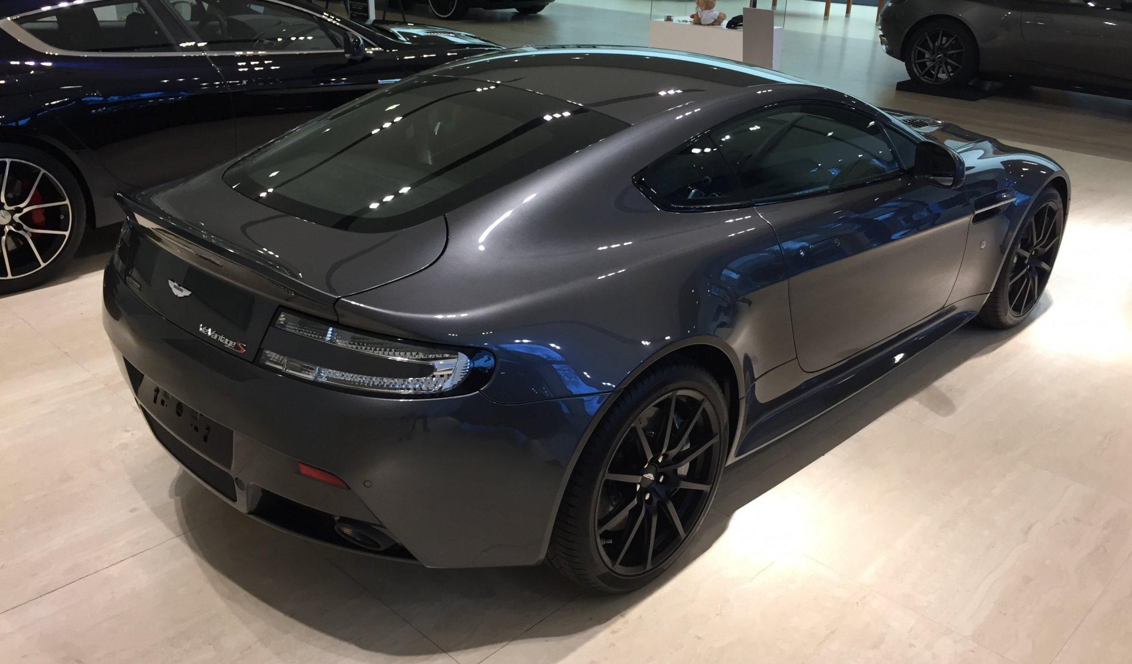 Aston Martin V12 Vantage S Cito Motors Max Verstappen