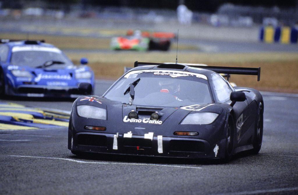 McLaren F1 GTR op Le Mans