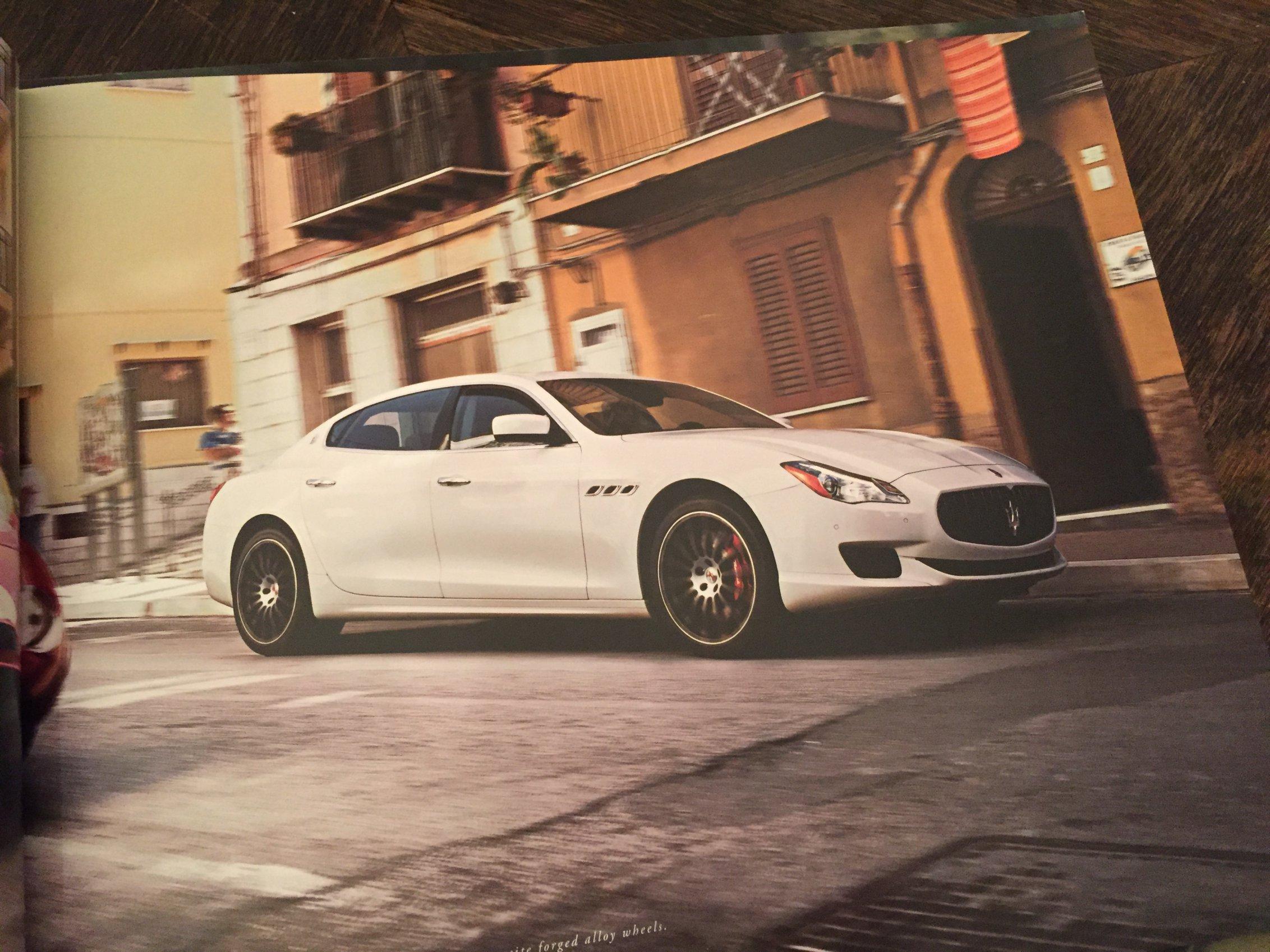 Autofolder Maserati Quattroporte USA
