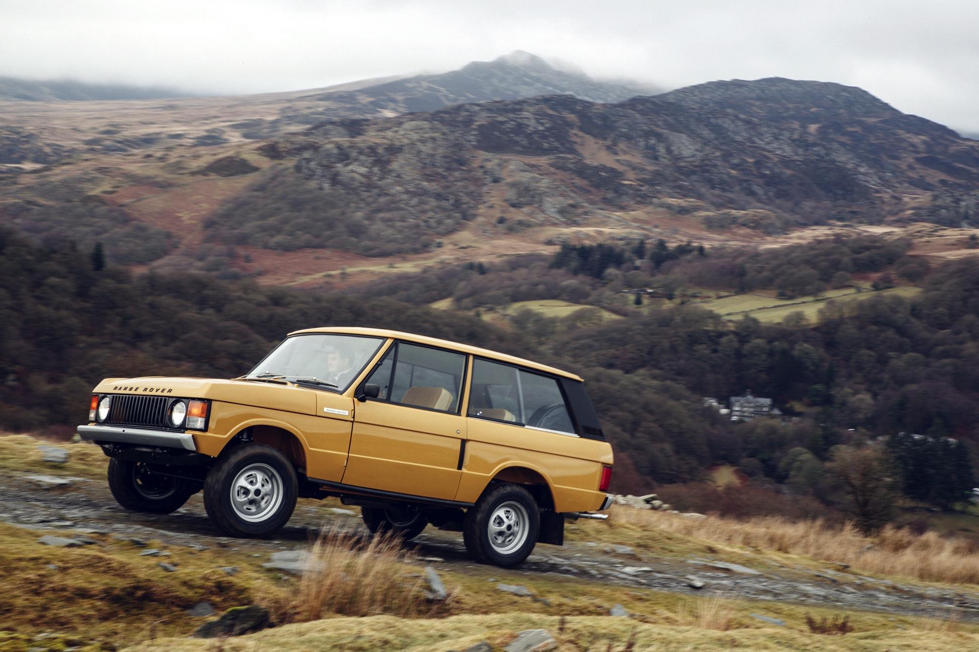 Range Rover Classic Reborn - Autovisie.nl