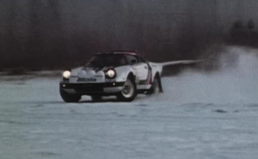 Lancia Stratos in WK-rally Zweden