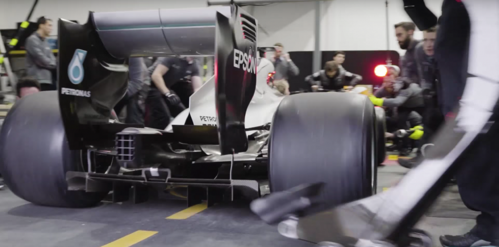 F1 2017 pitstop