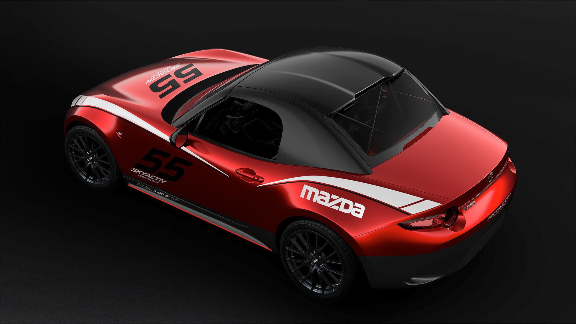Mazda MX-5 Cup racewagen - Autovisie.nl