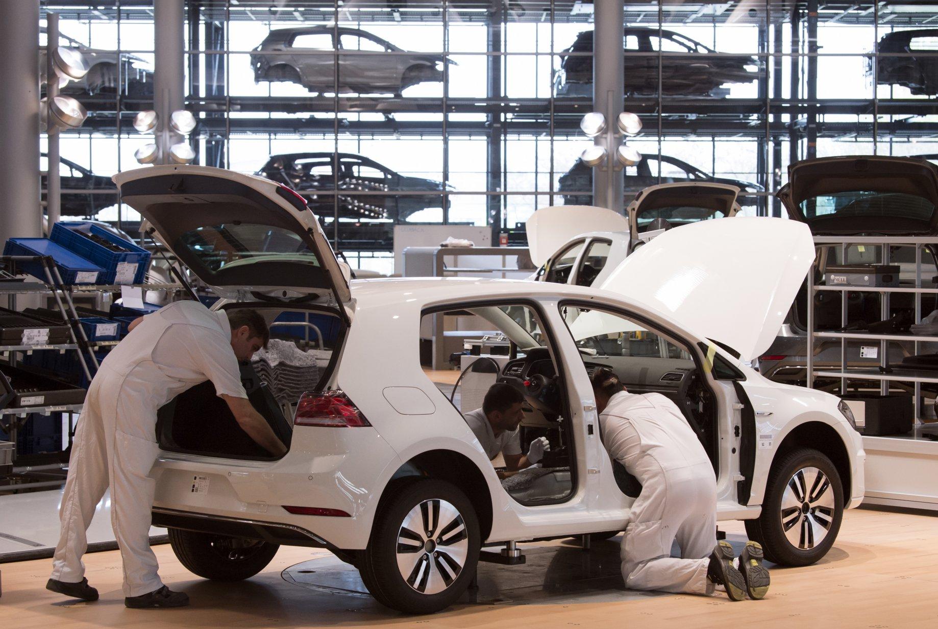 Volkswagen e-Golf Foto: Bloomberg