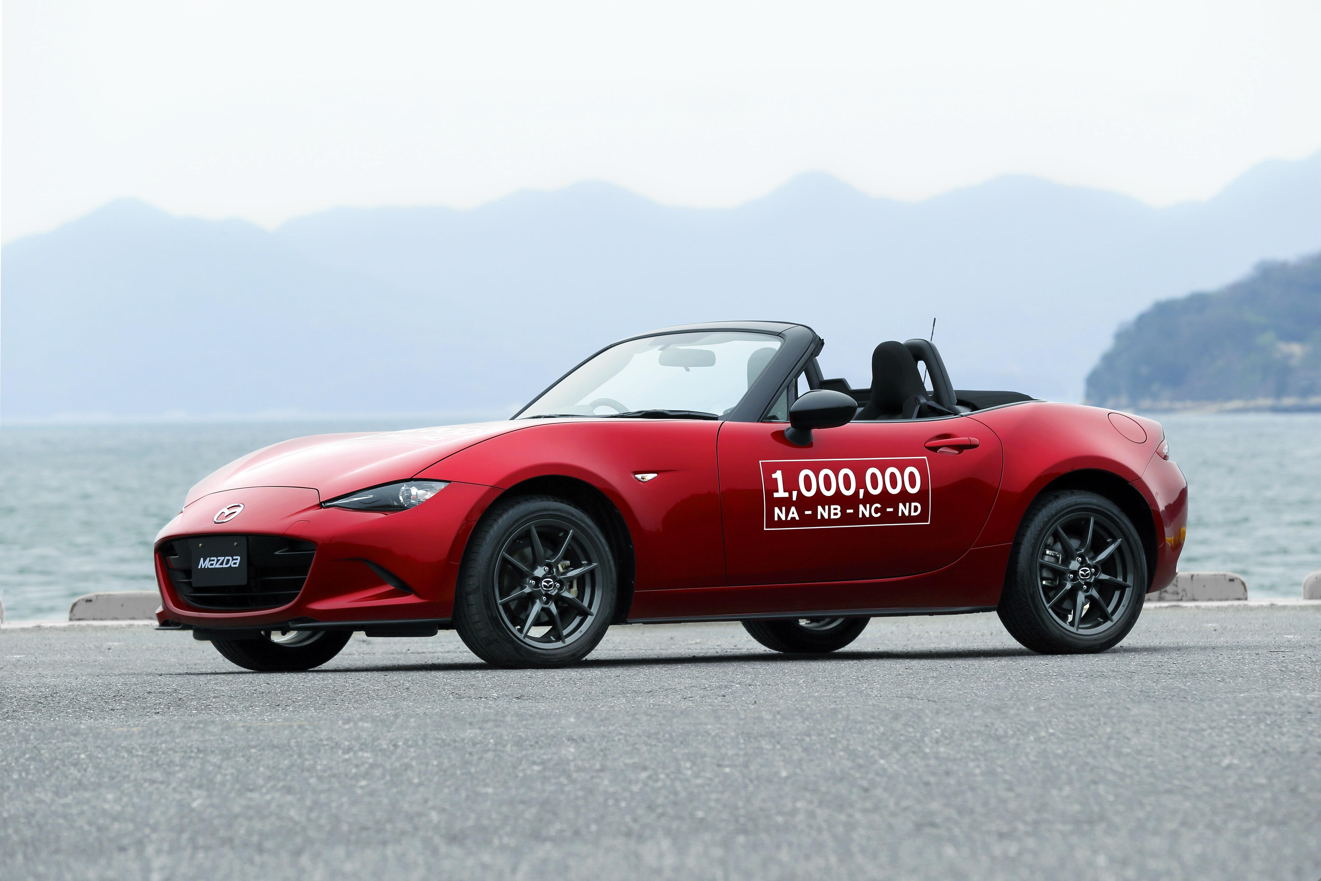 Mazda MX-5 1 miljoen - Autovisie.nl