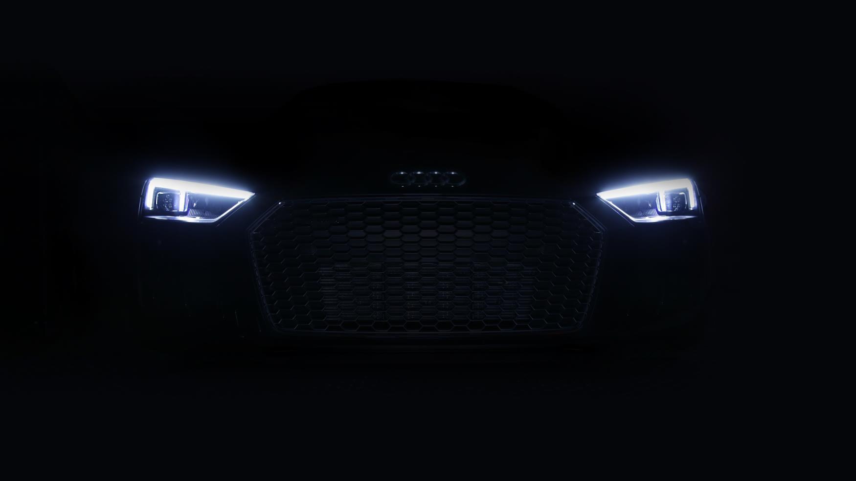 Audi R8 laserlicht