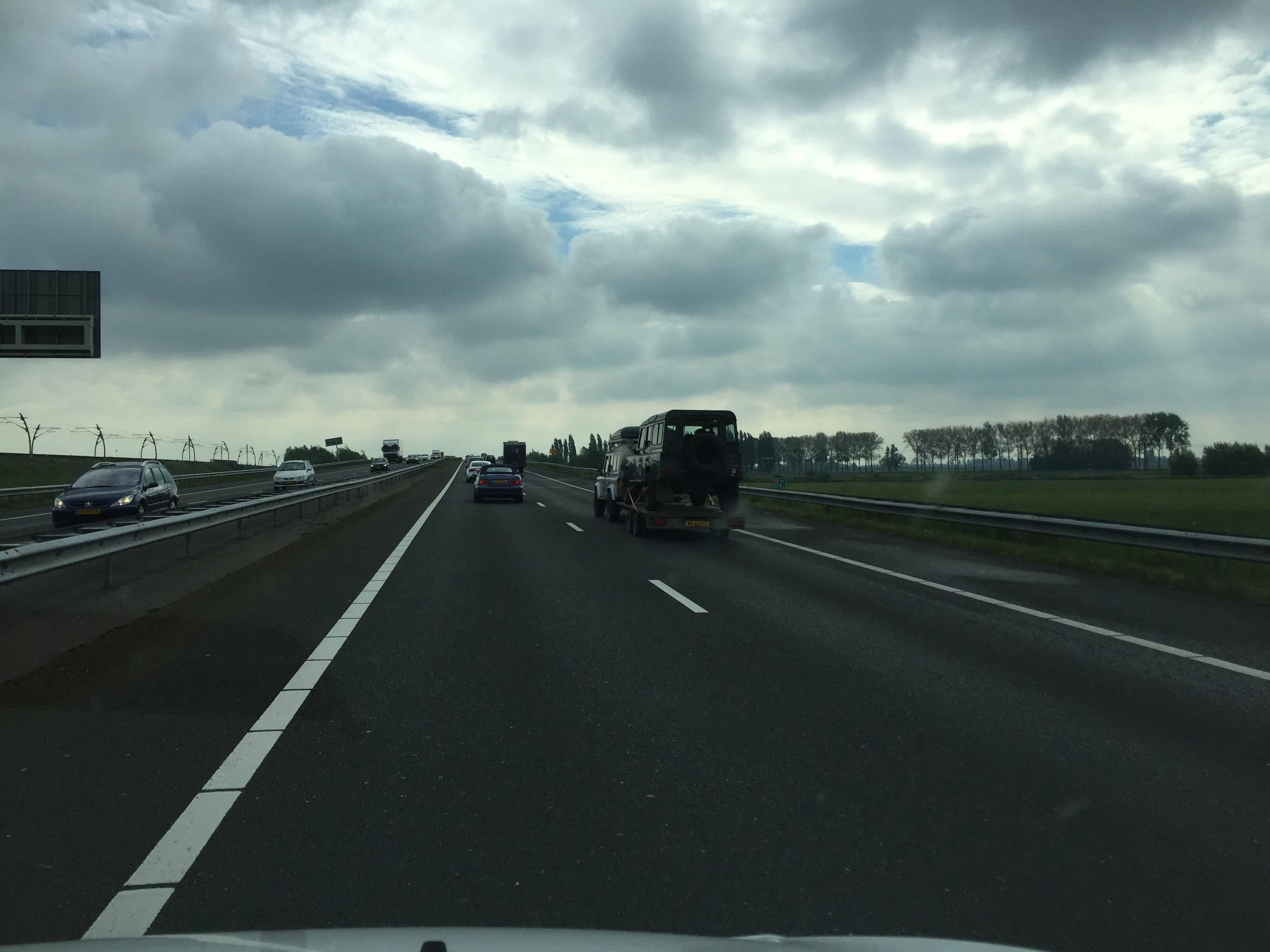 snelweg automobilist bestuurder chauffeur
