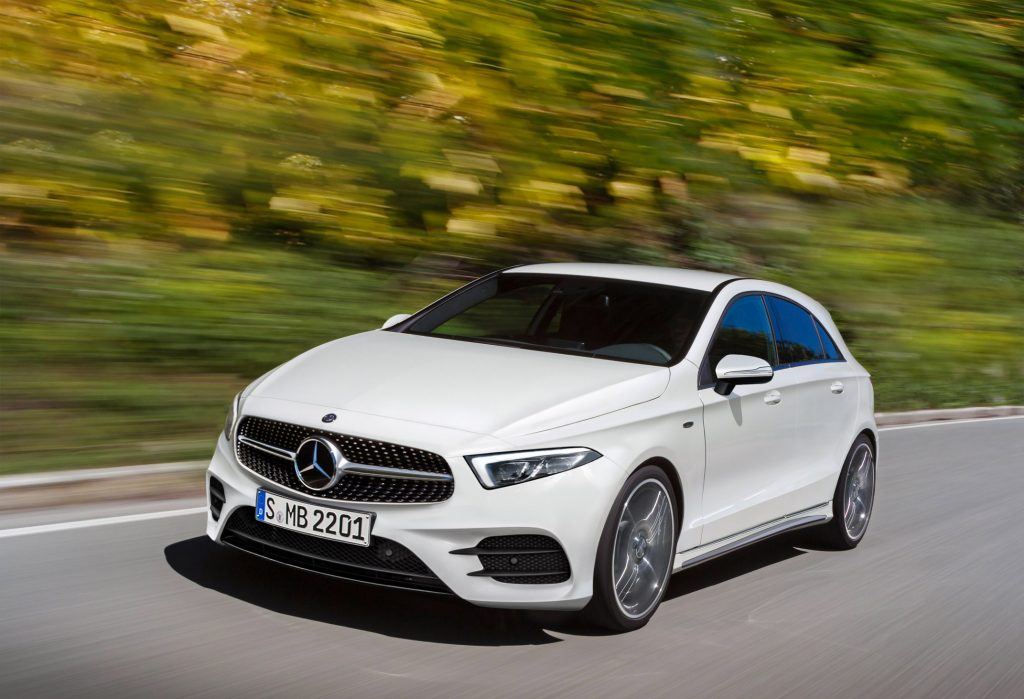 Mercedes-Benz A-Klasse, computerillustratie Schulte Design