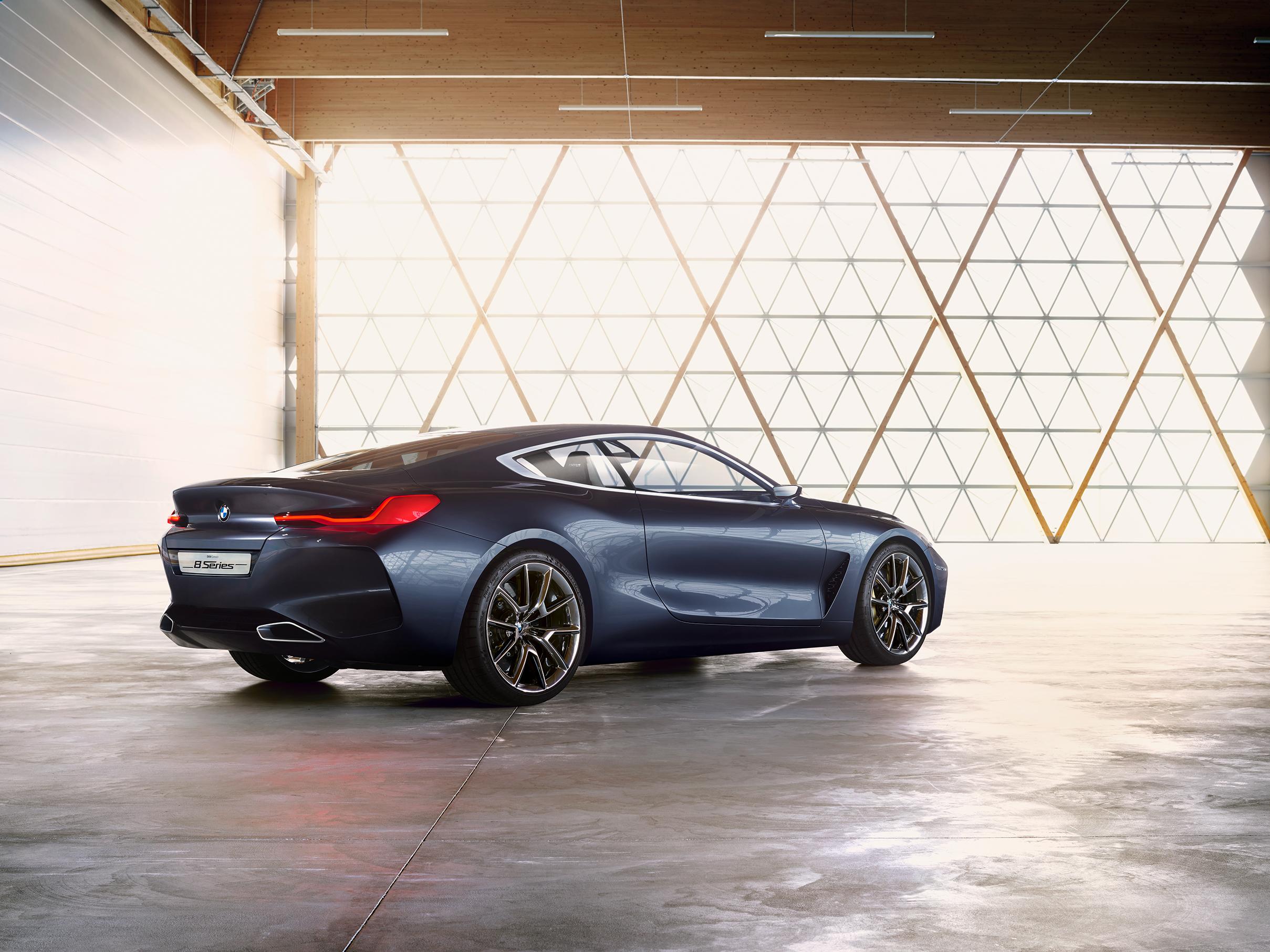BMW 8 Series Concept - Autovisie.nl