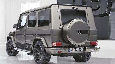 Mercedes-Benz G-Klasse designo manufaktur Edition (L) en Exclusive EditionG-Klasse, (W463), 2017; designo manufaktur Edition (L), Exclusive Edition (R)