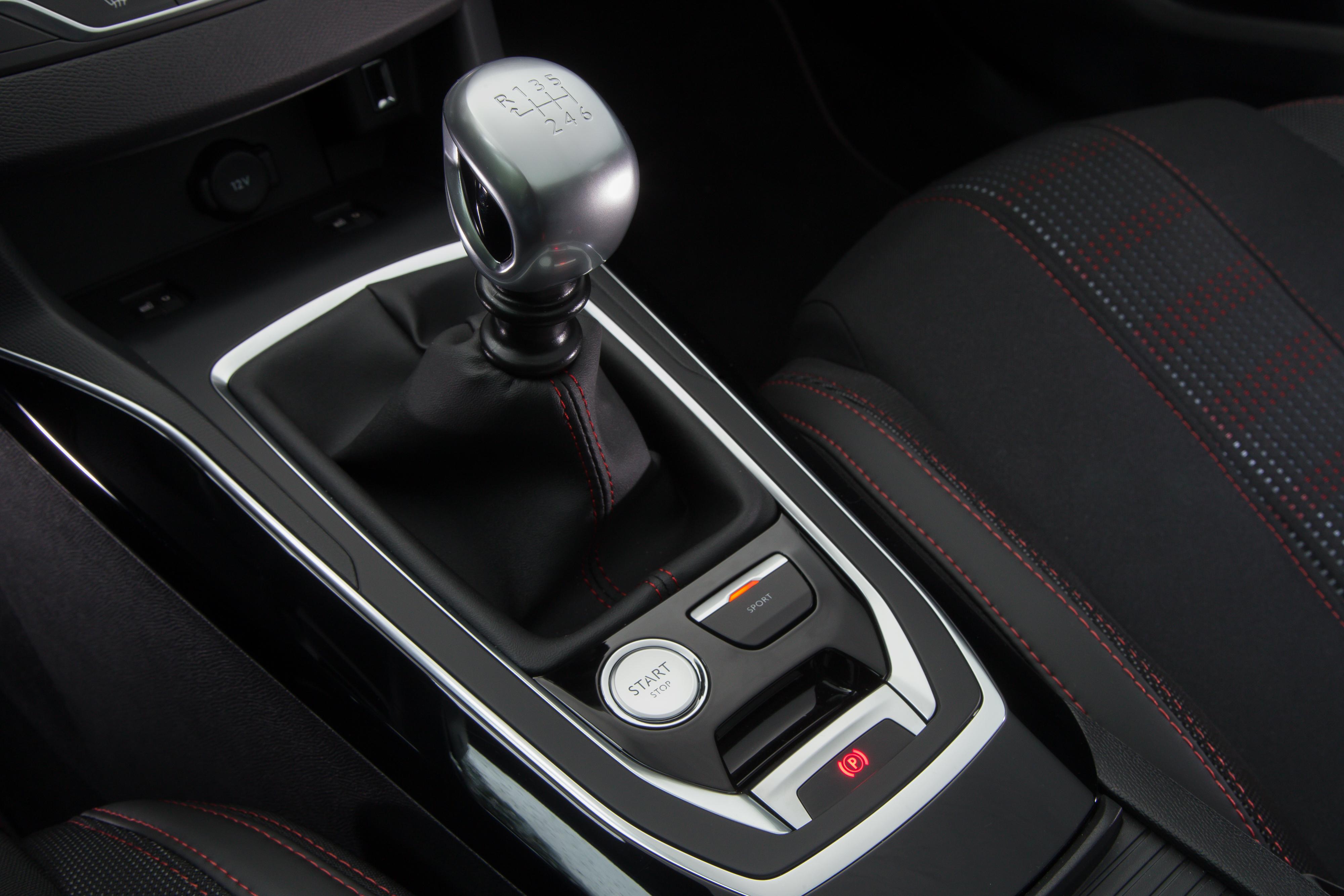 Peugeot 308 sportknop