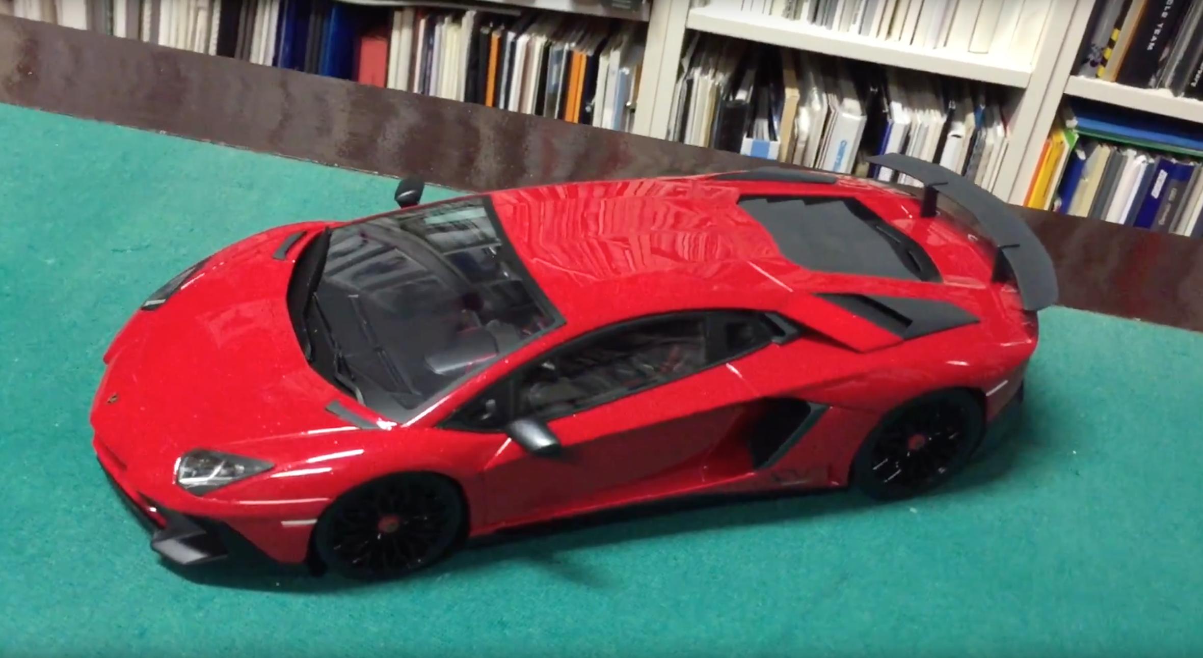 Ousia Kyosho Lamborghini Aventador LP750-4 SV