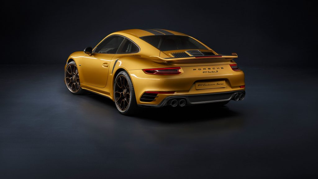 Porsche 911 Turbo S Exclusive Series 4