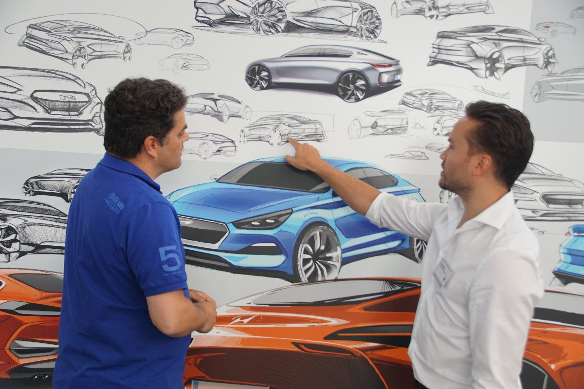 Jelle Tjebbes, productplanner Hyundai Design. Foto: Noël van Bilsen