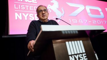 Ferrari NV Celebrates 70th†Anniversary By Ringing Opening Bell At NYSE