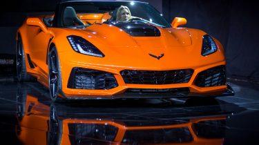 Chevrolet Unveils 2019 Corvette ZR1 Convertible