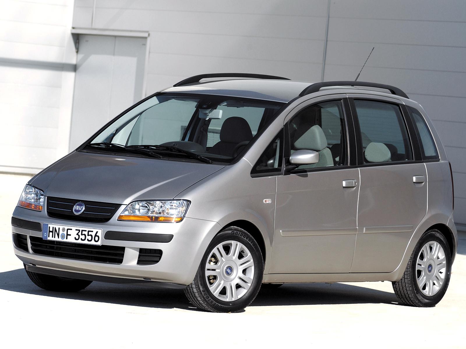Fiat Idea - Dossier Compacte Ruimtewagens 5000 euro - Autovisie.nl