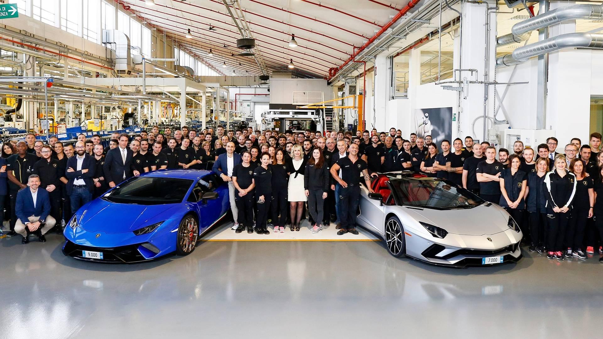 9.000 Lamborghini Huracan