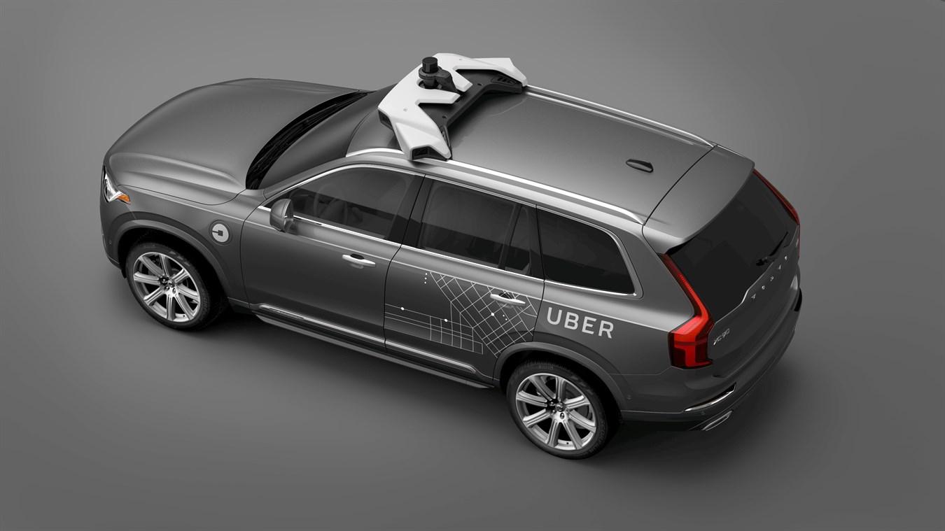 Zelfrijdende Uber