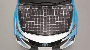 Toyota Prius Solar Powered