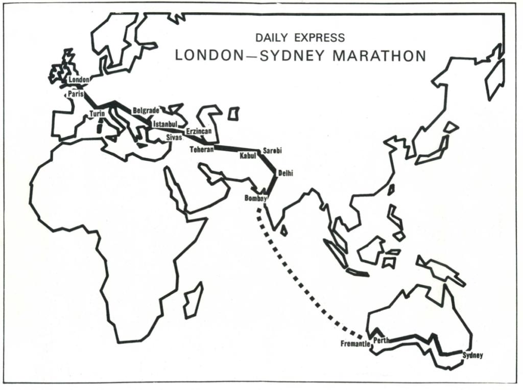 De London-Sydney Marathon: rallyhelden herdenken hun successen