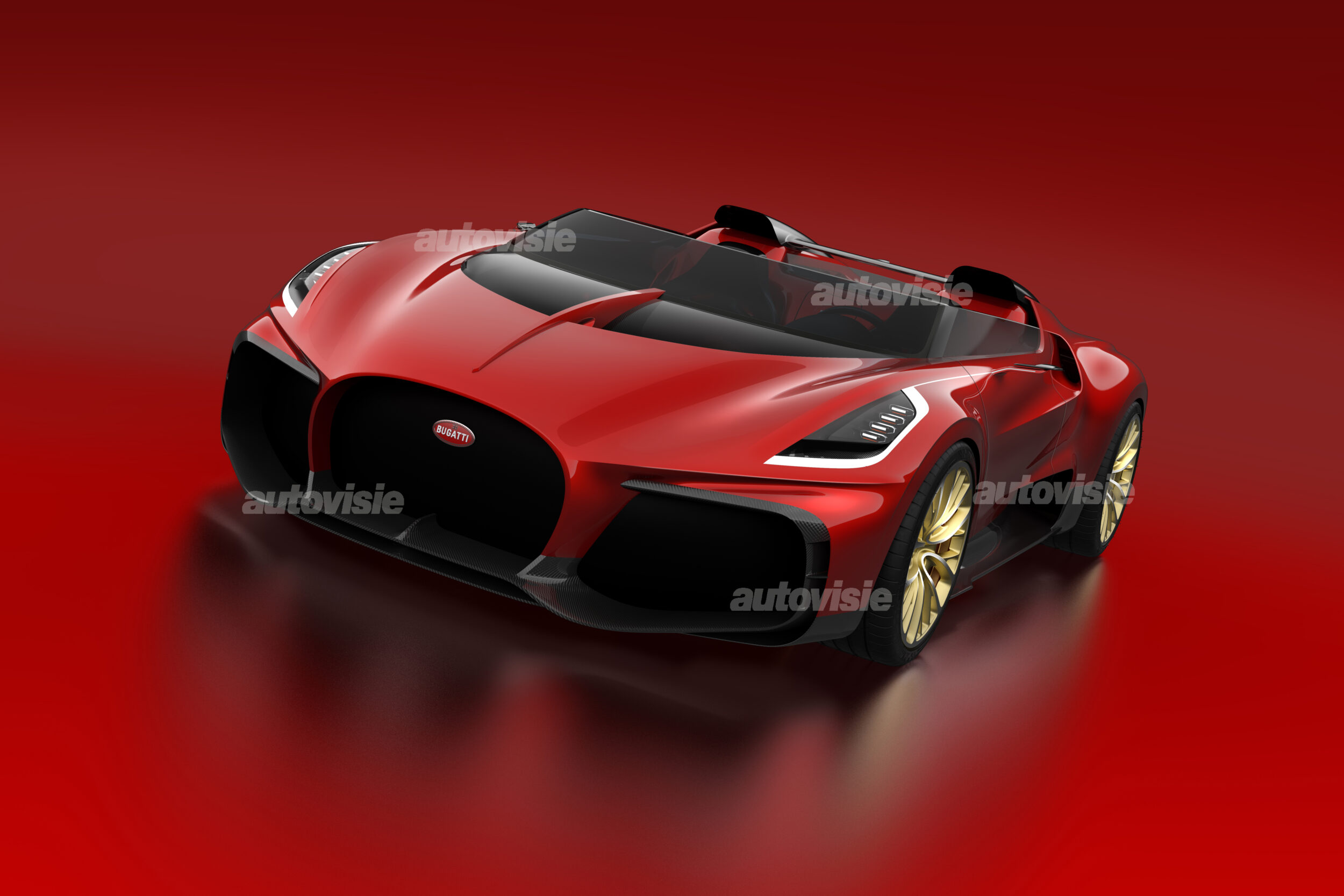 Bugatti Veyron Barchetta Sjoerd van Bilsen