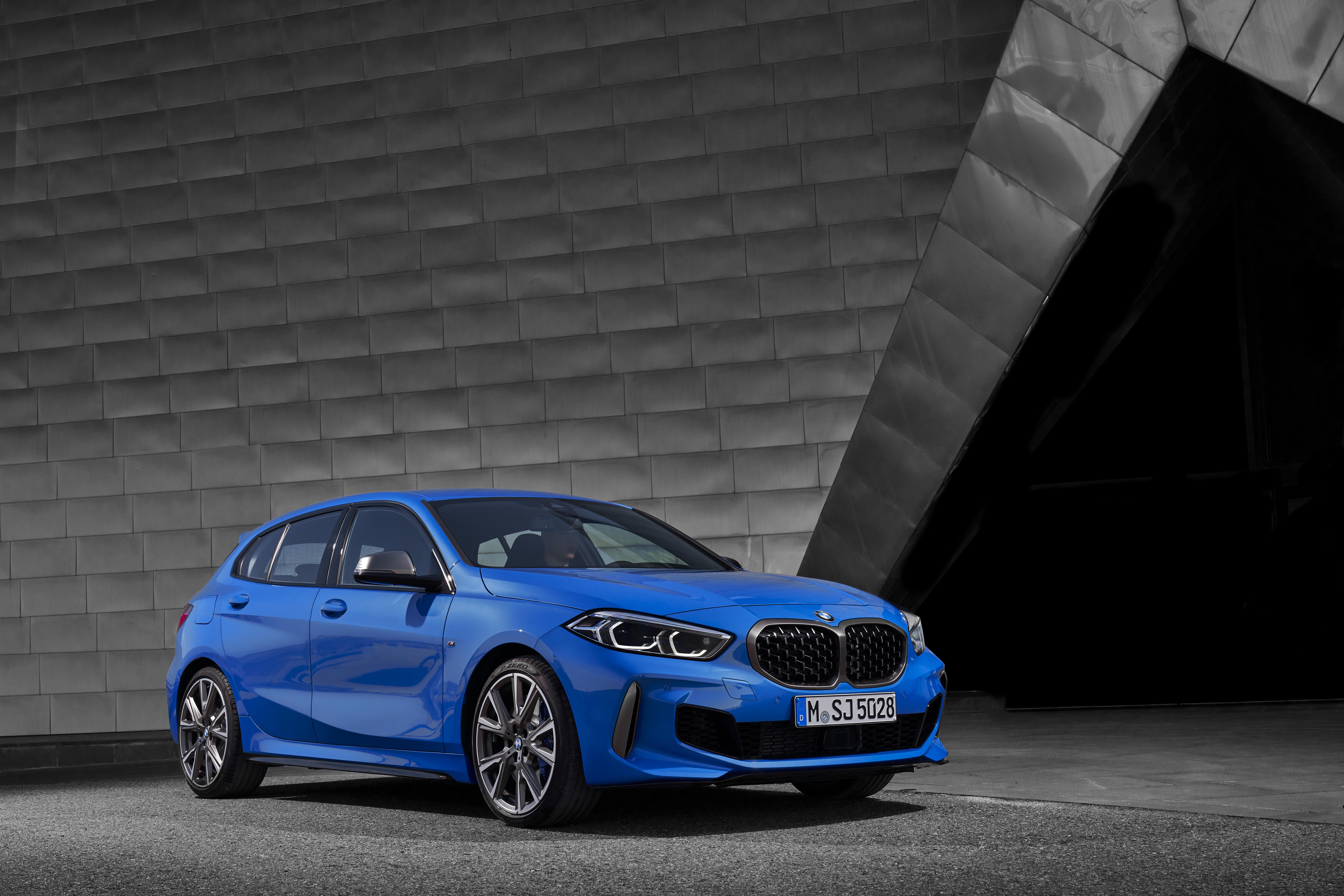 BMW M135i xDrive hot hatch