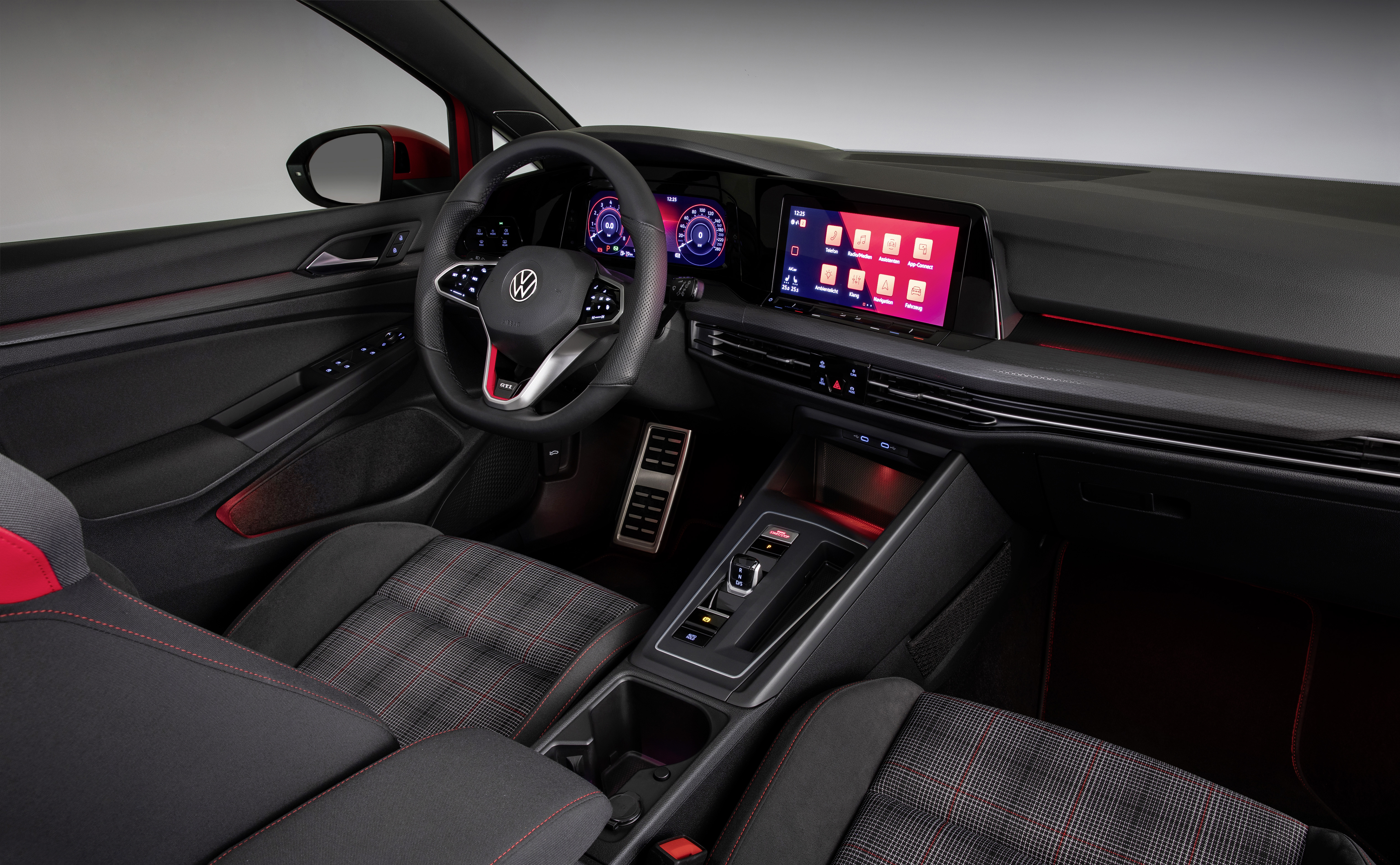 Volkswagen Golf GTI interieur