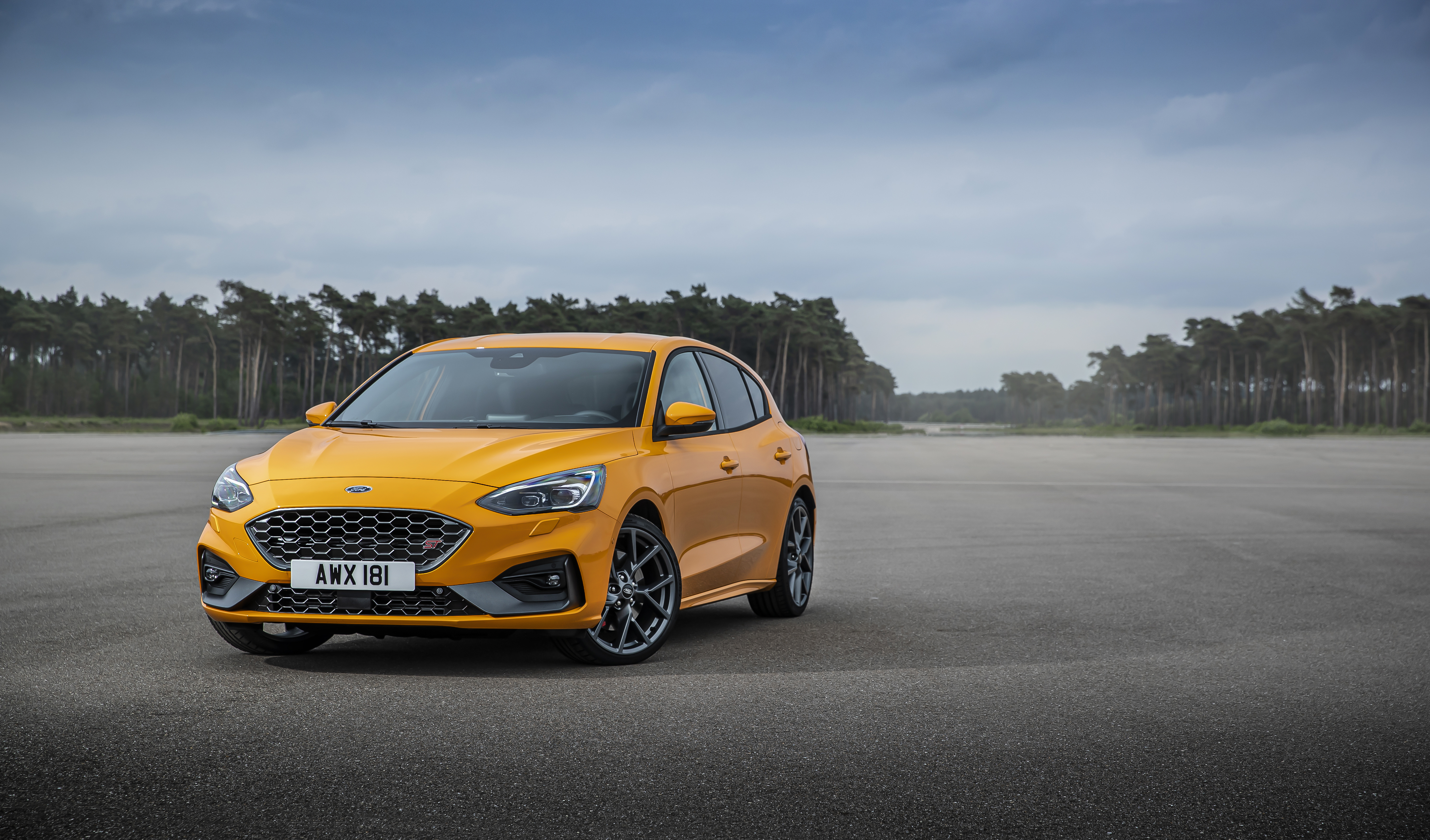 Ford Focus ST hot hatch