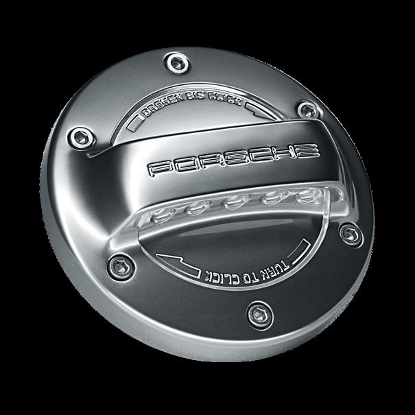 Porsche hypercar tankdop