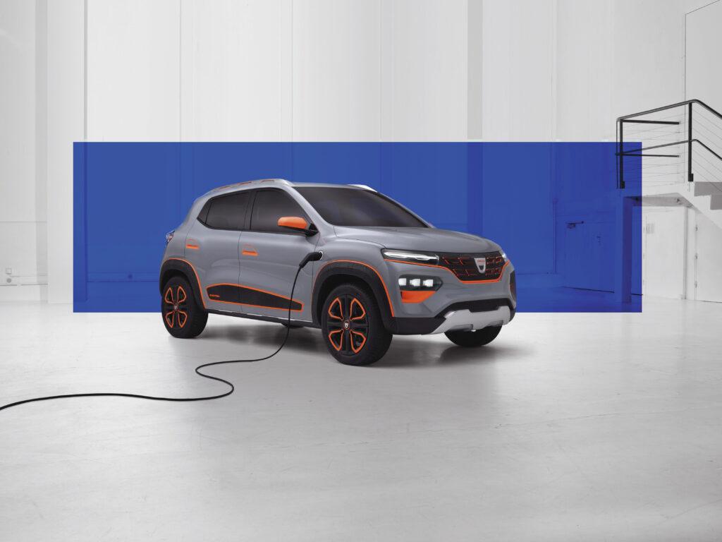 Volgend jaar verschijnt ook Dacia's eerste EV, de Spring.