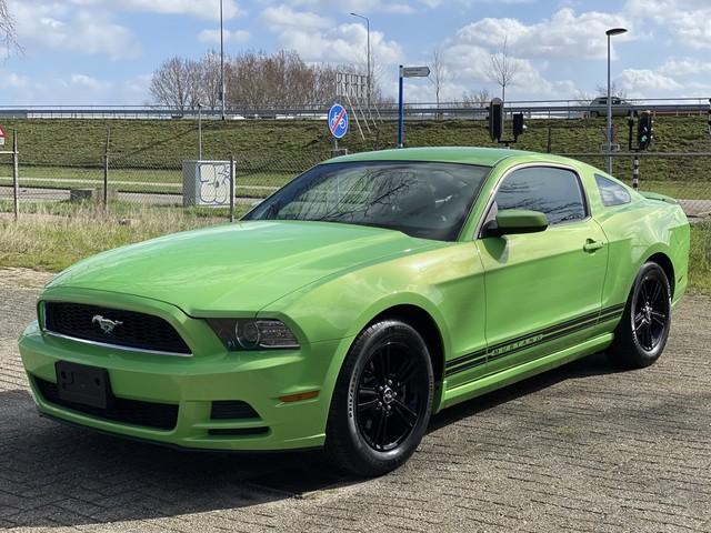 Kleur op de Mustang