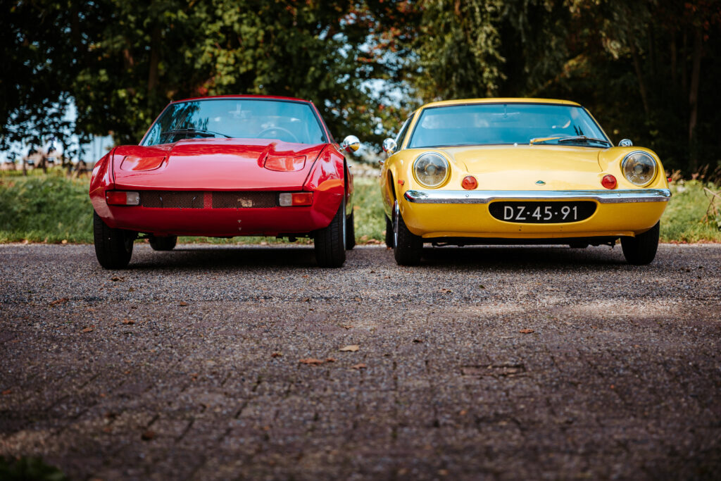 Mini supercars: Lotus Europa vs. Lombardi Grand Prix