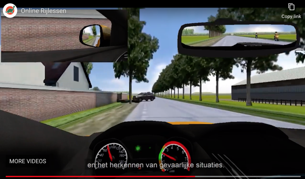 virtuele landweg
