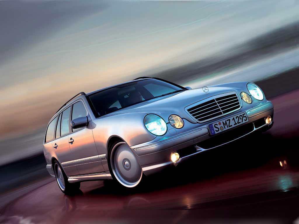 Mercedes E55 AMG zevenzitter