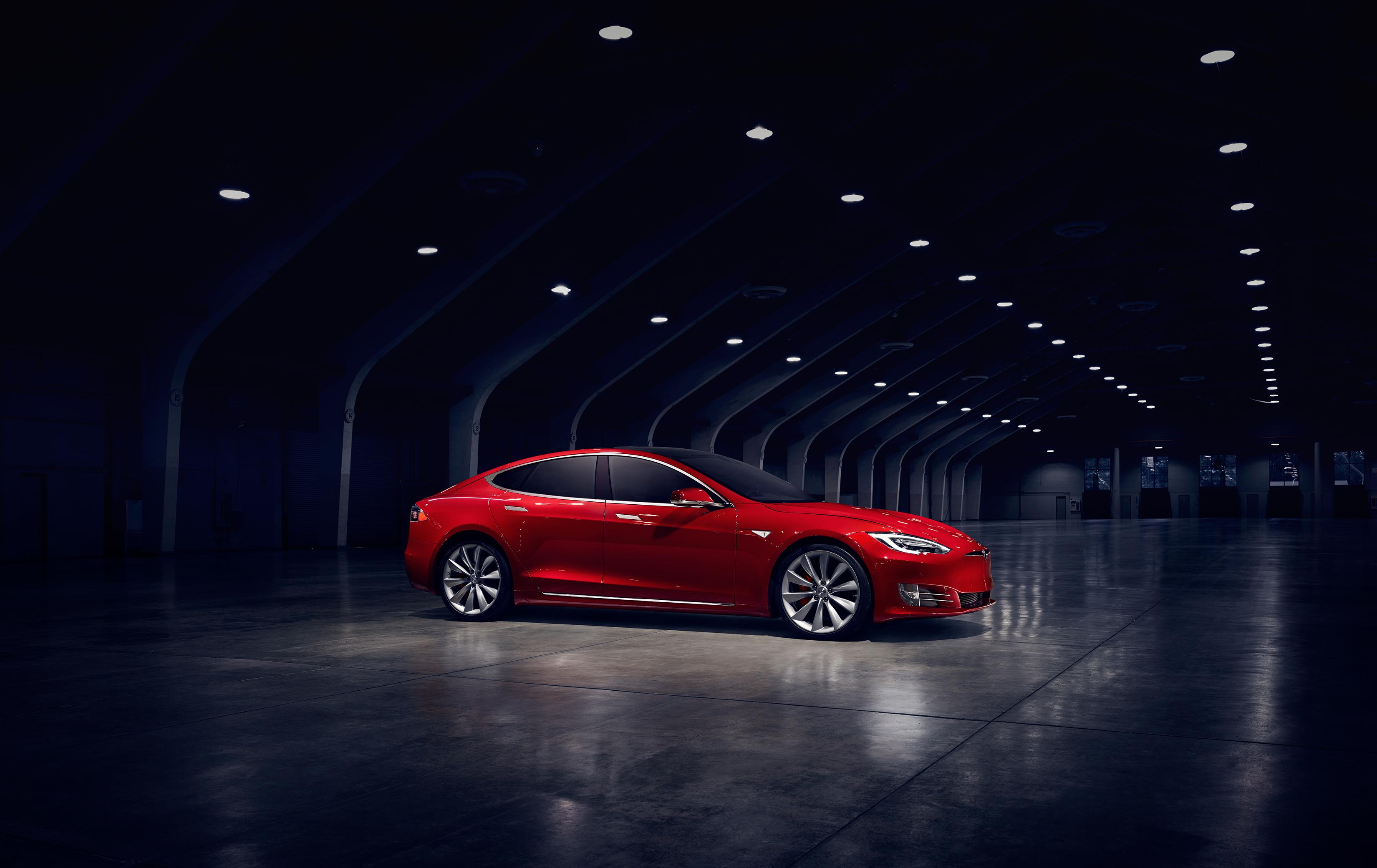 Tesla Model S zevenzitter